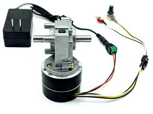 Ac 110 220v Variable Adjustable Speed 25 Rpm Brushless Dc Dual shaft Gear Motor