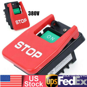 Industrial Large On Off Push Button Switch Start Stop Magnetic Switches 15a 35a