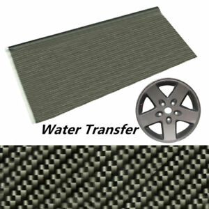 100x50cm Black Carbon Fiber Water Transfer Dipping Hydrographics Hydro Film