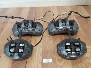 08 13 Oem Bmw E88 E82 135 Front Rear Brake Caliper M Sport Brembo Set 51k