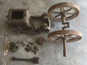 Witte Hit Miss 2hp Stationary Engine Restoration Project Parts Original
