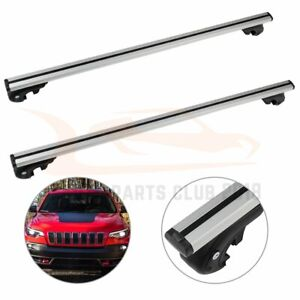 Usa Stock Roof Rack Cross Bars Cargo For 17 18 Jeep Cherokee Carrier Aluminum