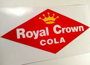 Royal Crown Cola Rc Sticker Decal Hot Rod Rat Rod Cooler Vintage Look