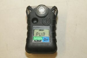 Msa Altair Oxygen o2 Single gas Detector As Is