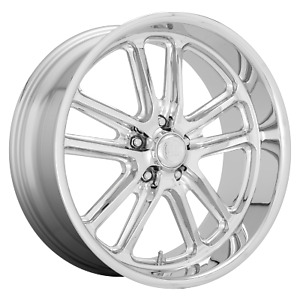 Us Mag 1pc Wheels Rim U131 Bullet 20x9 5 5x120 65 Et1 5 29bs 72 7cb Chrome