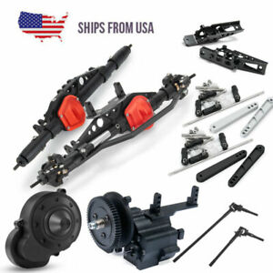 Transfer Gearbox Front Rear Axle CVD Anti Sway Bar For 1 10 RC Wraith 90048 US $102.59