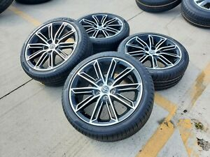 19 Toyota Camry Avalon Xse Oem Black Wheels Rims Tires 75234 2019 2020 2021 New
