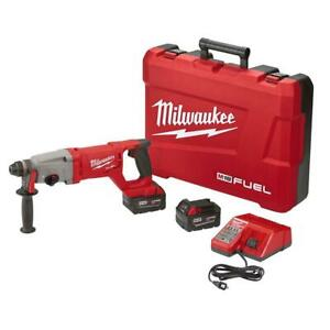 Milwaukee 2713 22 18 volt Cordless 1 Sds D handle Rotary Hammer Kit 2 Battery