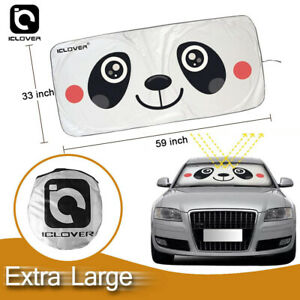 Extra Large Size Car Windshield Sun Shade Truck Van Foldable Window Visor Block