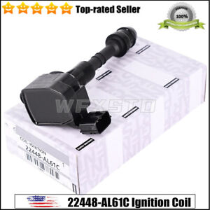 Genuine New Ignition Coil 22448 Al61c Fit For Infiniti Nissan 350z G35 M35 Fx35