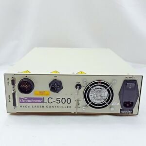 Melles Griot Omnichrome Lc 500 Hecd Laser Controller Powers On No Lights