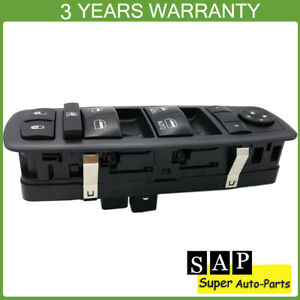 Front Left Master Power Window Switch For Jeep Grand Cherokee Durango 2011 2013