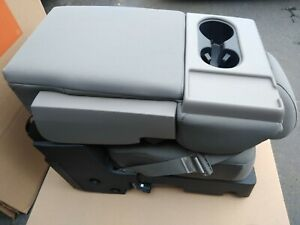 Arm Console jump Seat For Ford F150 f250 f350 Super Duty Headrest belt oem