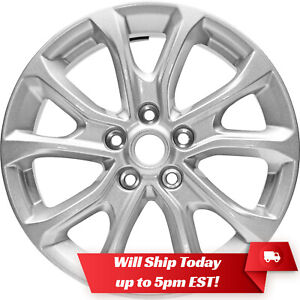 New Set Of 4 17 Silver Alloy Wheels Rims For 2018 2020 Chevy Chevrolet Equinox