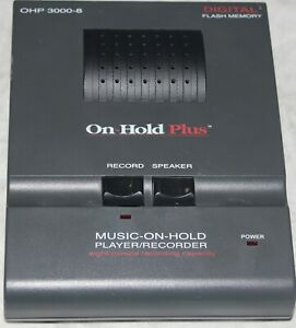 On hold Plus Music on hold Player recorder Ohp 3000 8