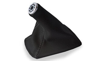 Toyota Celica Manual Shift Boot Cover Carbon Fiber For 2000 2005 Black