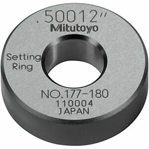 Mitutoyo 177 180 Setting Ring 500 quot Id Calibration Rings Industrial amp