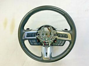 2015 2017 Ford Mustang Oem Leather Steering Wheel With Automatic Transmission