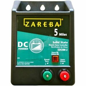 Edc5m z 5 mile Battery Operated Solid State Electric Fence Charger Agricultural