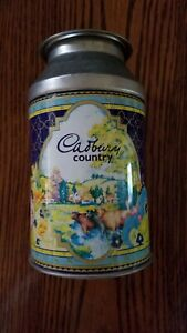 Cadbury Country Milk Container Tin. Good-Excellent Condition.