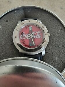 1998 Coca-Cola Watch - New in promo tin