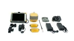 Topcon Single Hiper Hr Gps gnss Uhf Receiver Kit W Fc 5000 Tablet Pocket 3d