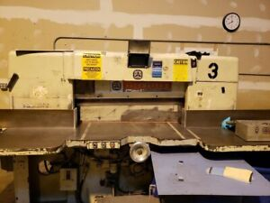 Lawson Paper Cutter 42 Good Working Conditions