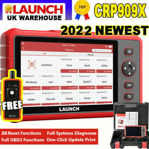 Launch X431 Pro Crp909x High End Scanner All System Diagnostic Tool Key Coding