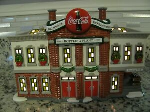 Dept 56 Coca Cola Bottling Plant