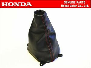 Honda Genuine Civic Fd2 Type r Shifter Shift Boot Oem Jdm