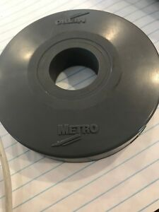 Merto Rubber Donut Castor Bumpers For Wire Metro Shelving Or Carts Set Of 8