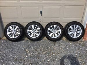 2015 2016 2017 2018 2019 Vw Mk7 Oem 15 Alloy Wheels Tires Golf Jetta Sportwagon