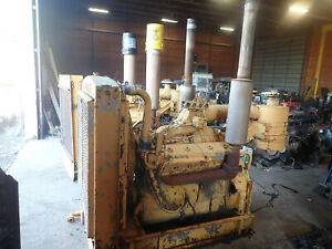 Detroit Diesel 12v71 Engine Power Unit Video Runs Strong 2 Avail V12 Gm Truck