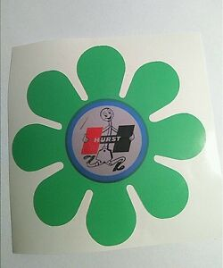 Hurst Sticker Decal Hot Rod Rat Rod Lowrider Vintage Look Car Truck Bike 60 S