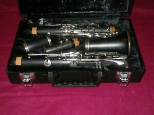 YAMAHA YCL-34 WOOD INTERMEDIATE LEVEL CLARINET - FULL RE-PAD & READY TO PLAY!