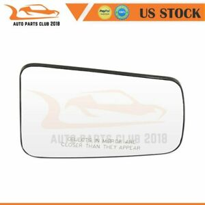 For 2008 2011 Ford Focus Convex Mirror Glass Passenger Side Chrome Mirrors