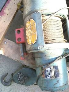 Cable Hoist 1000 Lb Ford Whippet