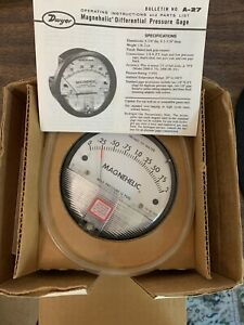 Dwyer Model 2002 Magnehelic Differential Pressure Gauge New In Box