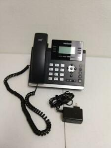 Yealink Sip t41p 6 line Voip Phone Display Black T41