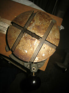 Atlas Rotary Indexing Table South Bend Aamco Shaper Mill