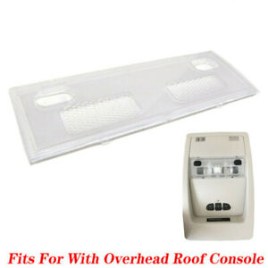 Overhead Console Map Dome Light Lens For Silverado Sierra Tahoe Avalanche 07 13
