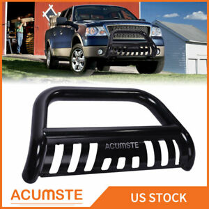 Black Bull Bar For 2007 2020 Tundra 08 20 Sequoia Push Grille Guard Front Bumper