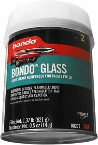 Bondo 277 Body Filler Car Boat Fiberglass Glass Reinforced