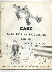 Case T621 And T622 Subsoiler Eagle Hitch Parts Catalog No B586