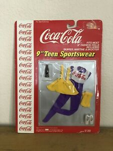 Vintage Coca Cola 9 Inch Teen Sportswear Doll Clothes 4008