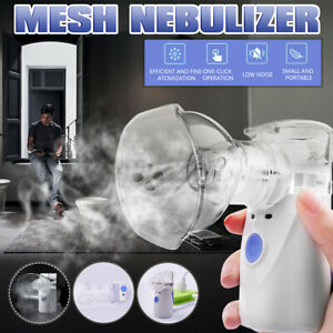 Handheld Low Noise Ultrasonic Adult Kids Humidifier Portable Nebulize