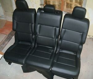 New 2020 Ford Explorer Black 2nd Row Rear Seat Back Seat Set Pickup Only Oh