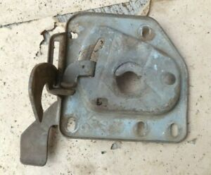 1951 1952 Chevy Lower Hood Latch Plate Original Gm Coupe Sedan Hardtop