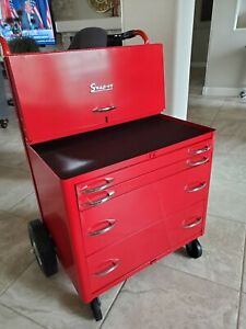 Vintage Kr340 Snap On Rolling Mechanic Cart Restored Rare
