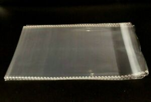 Clear Resealable Self Adhesive Seal Cello Lip Tape Plastic Bags 1 5 Mil Thick